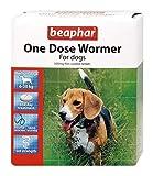 Beaphar – Pastilla desparasitadora de una sola dosis para perros medianos – Lote de 2 pastillas