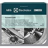 AEG M3GCP400 - Limpieza y Cuidado para Lavadoras y Lavavajillas 3 en 1 (6 unidades): Descalcificador, Desengrasante y Desinfectante
