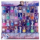 Disney Juego De Esmalte De Uñas Pelable No Tóxico Congelado Para Niñas, Colores Brillantes Y Opacos, Edades 3+ - Paquete De 18 |Disney Congelado|0.17 Fl Oz (Paquete De 18)