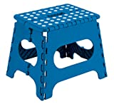 Arregui TB-027-A Taburete Plegable Multiuso, 27 cm de altura, Azul, 27 x 29 x 22 cm