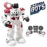 Xtrem Bots- Guardian BOT Inteligencia Artificial. Alarma Anti-Intrusos Robot Control Remoto de Juguete. Robotica para niños, Multicolor (Blue Rocket XT380771)