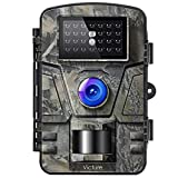 Victure Cámara de Caza Vigilancia 16MP 1080P IP66 Impermeable PIR Sensor de Movimiento Visión Nocturna 90 ° Angular para Fauna Seguridad Hogar Mascota Animal