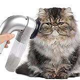 UxradG Quitapelo eléctrico para mascotas, aspiradora, perro, gato
