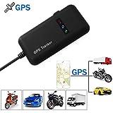 XCSOURCE Vehículo Rastreador Localizador en Tiempo Real Seguimiento de GPS/gsm/GPRS/SMS Motocicleta Bicicleta de Coche Antitheft AH207