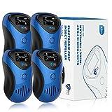 BLCPRO Repelente Ultrasónico de Plagas 2020 Repelente Ultrasónico Mosquitos, 4 Modos para Conducir con Precisión Ratas y Ratones, Cucarachas, Insectos, Hormigas, Pulgas, Moscas [2 Piezas]