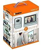 Bticino - 317113 kit de video teléfono de pantalla táctil de 2 hilos 7'single/doble cara, gris