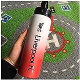 Enweonga 2020 Nuevo Gran Regalo para Cualquier Partidario De Liverpool, Hervidor De Agua, Taza, Aluminio - 25Oz Producto Oficial Suministros para Fanáticos del Fútbol