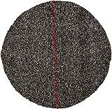 DISCO CRISTALIZADOR DE LANA DE ACERO PREFABRICADO cristalizar, pulir, limpiar (11'/27cm, Rojo)