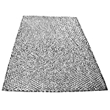 Spares2go grande aluminio malla filtro para campana de cocina Corbero/ventilador Extractor ventilación (91x 46cm, corte a tamaño)