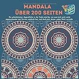 Mandala über 200 Seiten - Die glücklichsten Augenblicke in der Liebe sind da, wo man sich noch nicht gegeneinander mit Worten entdeckt hat, und doch jede Miene, jeden Blick versteht.